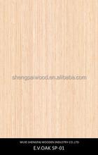 hot sale slice colored artificial oak timber wood recon face veneer for decorative wooden furniture home wall door floor