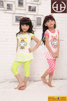 Wholesale Girls active clothes suits anti-bacterial cotton kids clothes girls