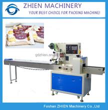 Ze-250d rotativo orizzontale macchina imballatrice per il pane e biscotti