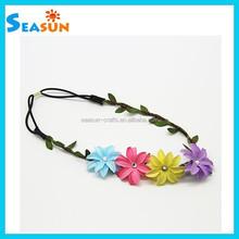 Women Flower Hair Bands for Summer Hair Accessory