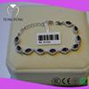 Hong Kong Jewelry Manuafacturer High Quality Sapphire Sterling Silver Bracelets