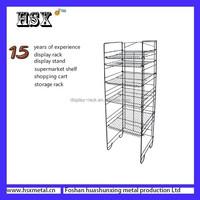 wholesale metal fabric display rack for store