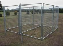 Hot galvanized dog runs / Temporary fence dog kennel