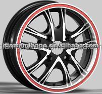15/17 inch replica alloy wheel for sale 4*100/114.3(ZW-AU-5101)