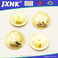 metal shank military buttons sewing button for uniform coats