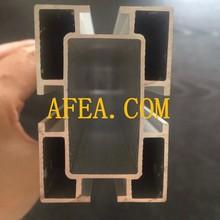 Perfil de alumínio rail guia de alumínio ferroviário trilho de alumínio para porta de correr