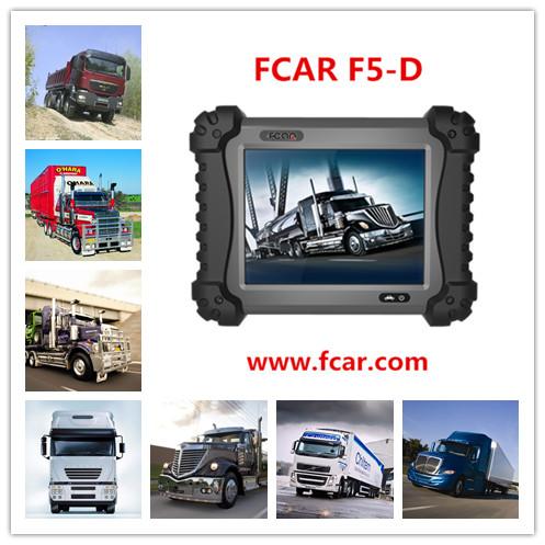Fcar f5-d xe tải chẩn đoán thiết bị cho xe tải hạng nặng sửa chữa chẩn đoán người đàn ông, tata, Mahindra, toyota, bosch, mèo
