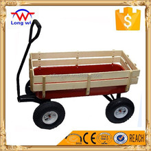 Easy go Wooden and Metal Kids Wagon