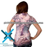 sublimation printed ladies tshirts, sublimated ladies tshirts, sublimated ladies tops, sublimated ladies top, Covington Women
