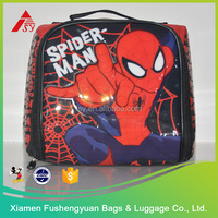 China wholesale merchandise spider-man cheap kids lunch bag for boy