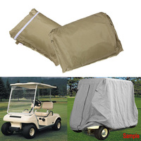 New For Yamaha Cover Taupe 95 2 Passenger Golf Cart Protect Against Rain Sun
