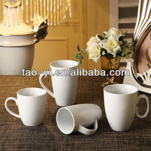 Factory direct wholesale white ceramic mugs and cups