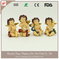 Europe Style Resin Craft Antique White Angel Baby Angel Figurines