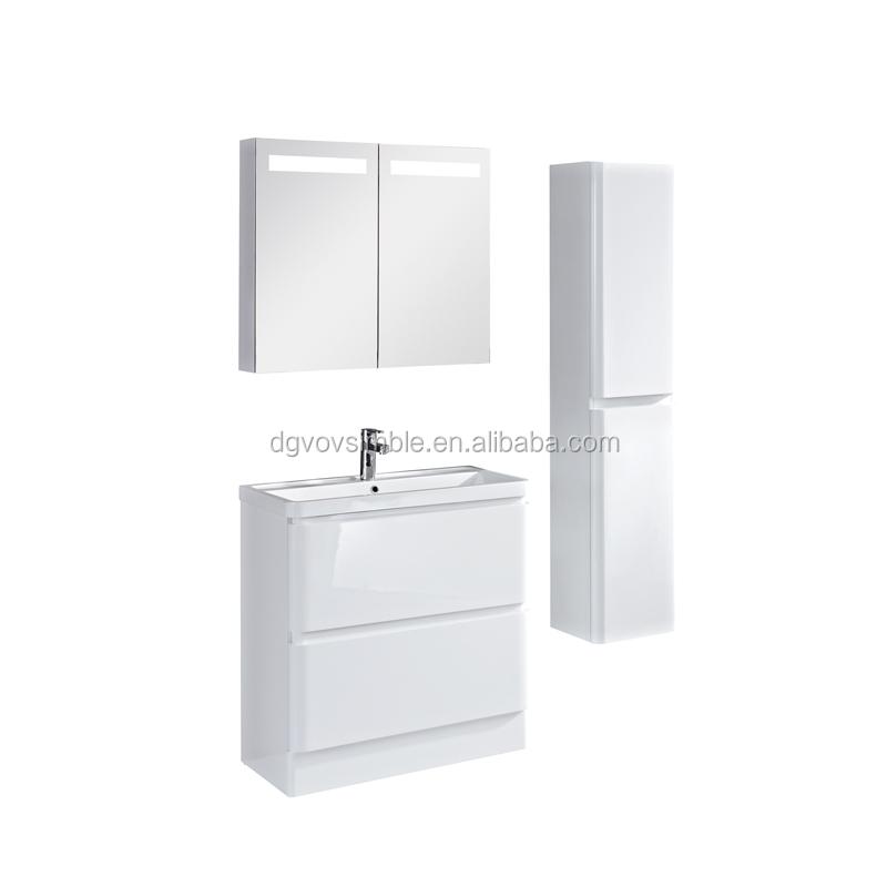 Moderne mdf badkamer ijdelheid mdf badkamermeubel houten badkamer meubels gemaakt in china - Kleine ijdelheid ...