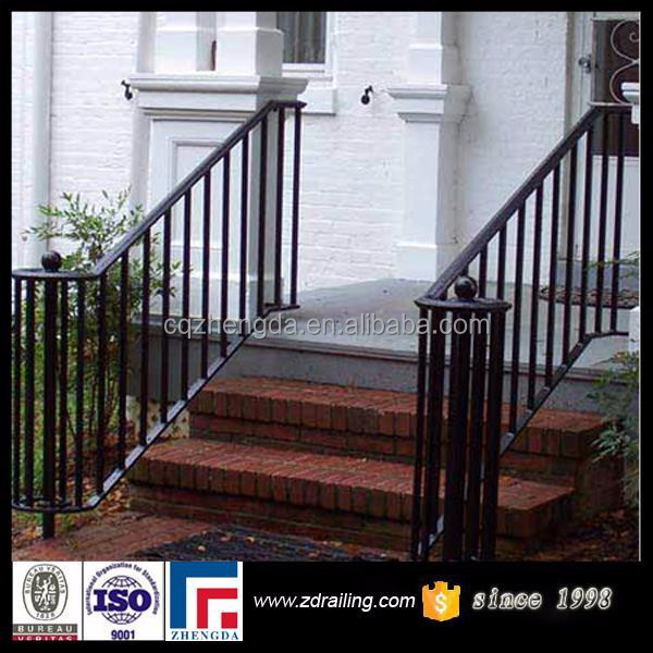 Outdoor Stair Handrail Metal Handrail For Steps Buy Outdoor Metal Handrail