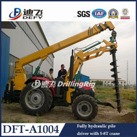 BV& SGS Approved BOMR Tractor Bored Piling Equipment