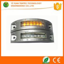 LED aluminium reflective led road marker stud solar powered leds road stud