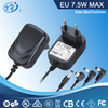 EU wall adapter for led strip lighting 12v dc 60950 61347 61558