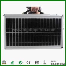 20W ultra-thin portable solar system,solar home lighting system