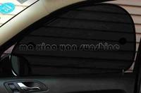 Auto Car Side Window Sun Shade Visor Shield Cover Screen Black Color Mesh