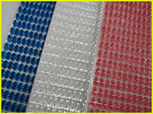 Colour Triangle Self Adhesive Car Body Sticker 24cm*54cm & Resin Material & Sticky Rhinestone Sticker