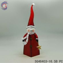 wholesale supplies iron art of christmas snowman with star
