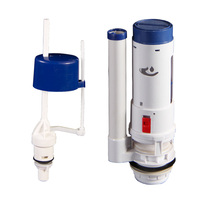 siphon type cistern flush mechanism pulmbing fitting