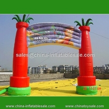 Most attractive commercial inflatable entrance arch, advertising inflatable arch tent for sale