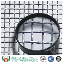 Anping Direct Factory Stainless Steel Crimped Wire Mesh/PVC Coated Weave Crimped Wire Mesh