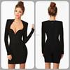 bodycon bandage dress 2015 !OEM/wholesale/ Retail bandage dress ! fashion high quality evening dress