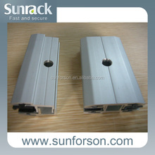 5.5mm - 15mm Thin film glass panel solar mounting clamps