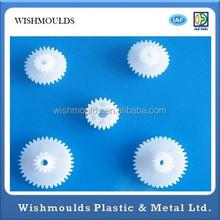 High Precision custom POM Nylon single/double plastic spur gear