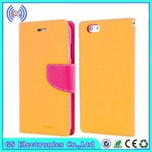 Wholesale High Quality modern fancy diary original Goospery PU leather case for Sony SP