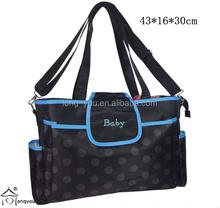Designer diaper bag fashionable baby nappy bag