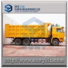6x4 tipper truck SHACMAN dump truck 336 hp 40 T loading dumper van