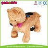 AT0628 wood rocking horse kid riding horse toy plush animal electric scooter