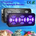 Inteligente Auto-atenuado Controlado LED las Luces del Acuario para de agua Salada Tanques de Arrecife