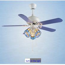 42 inch 3 lamp 5 blades Modern ceiling fan switch pull