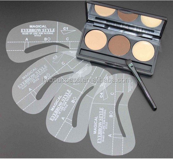 ermanent Make-up plastic Eyebrow Stencil (2)