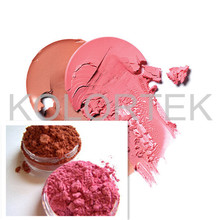 Cosmetic Grade Red Iron Oxide Pigments, Matte Blush Powders