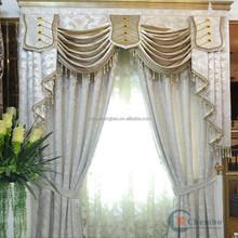 Hotel luxury bead decorative door royal curtain