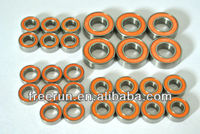 High Performance MCD RACING RACE RUNNER V4 ceramic bearing kits with different rubber seal color