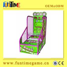 2015 Hot Sale arcade basketball shooting gun machine from Funtime company