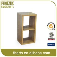 Various Design Custom Print Wooden Bookcase With Ladder