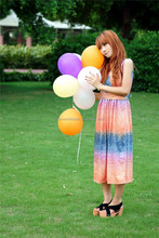 """round shaped 10"""" colour latex balloons for advertising"""