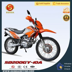 200cc Dirt Bike with Electric Start 4-Stroke Engine SD200GY-10A