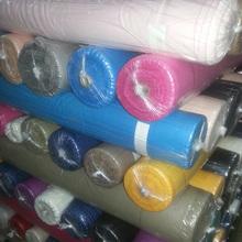 Plain dyed 100% Rayon stocklot fabric for garment