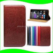 Wholesale Alibaba for Nokia Lumia 430 Ultra Slim Flip Leather Case