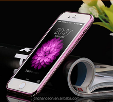Soft TPU with luxury diamonds shining glitter bling bling crystal rhinestone mobile phone case cover for apple iphone6s 5s 6plus