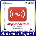 Hot 4g antena com crc9/ts9 conector/4g antena magnética/4g antena para huawei router